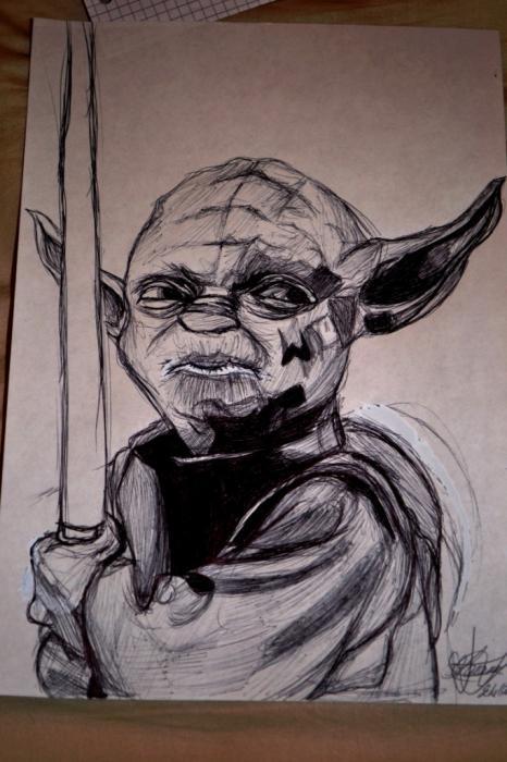 Yoda por furbillon